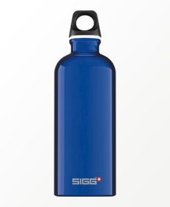 SIGG waterfles traveller donkerblauw 0.6 liter