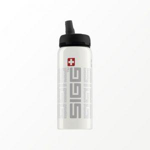 SIGG waterfles rood met nieuw actieve dop 0.6 liter