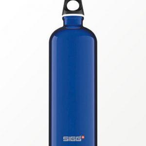 SIGG waterfles traveller donkerblauw 1.0 liter