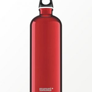 SIGG waterfles traveller rood 1.0 liter