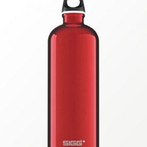 SIGG waterfles traveller rood 1.0 liter
