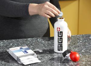 schoonmaken SIGG fles