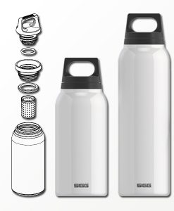 SIGG Thermo met theefilter